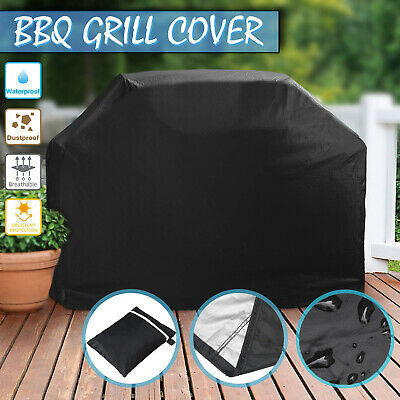 AU24.69 • Buy NEVERLAND BBQ Cover 4 Burner Grill Outdoor UV Waterproof Gas Barbecue Protector