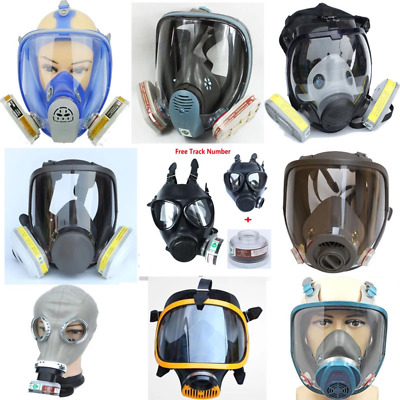 $ CDN119.18 • Buy Lot Of Chemcial Painting Spraying Silicone Gas M&sk Same For 3M 6800 Dust Gas M&