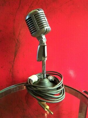 Vintage 1960's Shure 55 S Dynamic Cardioid Microphone Old Elvis W Accessories 2 • 264.89£