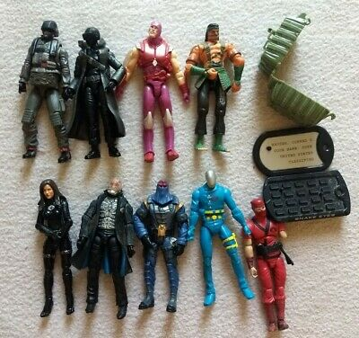 $ CDN77.76 • Buy Gi Joe 25th Anniversary Modern Era Lot, Snake Eyes, Baroness, Cobra Commander ++