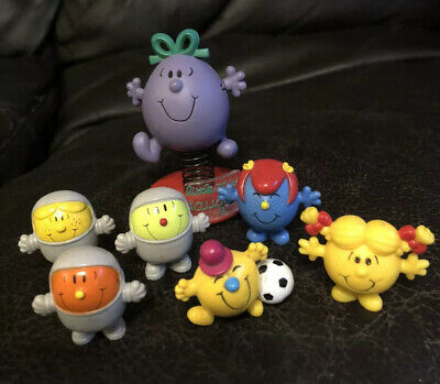 Mr Men  Little Miss Pencil Toppers, Mini Figures , Bouncing Little Miss Naughty • 14.99£
