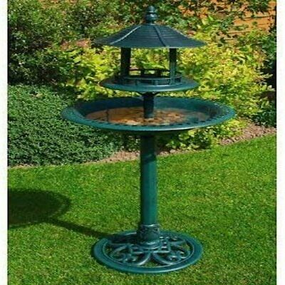 Kingfisher Garden Bb01 Ornamental Bird Bath And Table • 35.99£