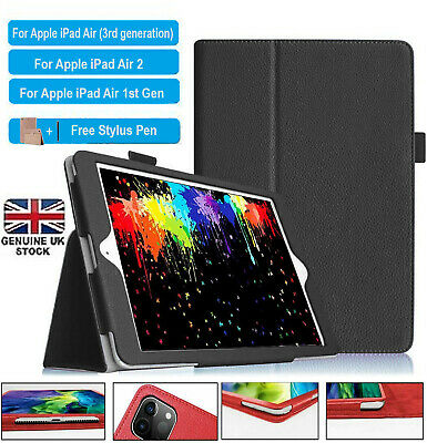 Smart Flip PU Leather Stand Magnetic Case Cover For Apple IPad AIR 1,2,3(10.5) • 3.99£