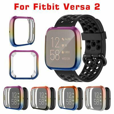 $ CDN9.64 • Buy Shell Cover Screen Protector Creative Gradient Color For Fitbit Versa 2