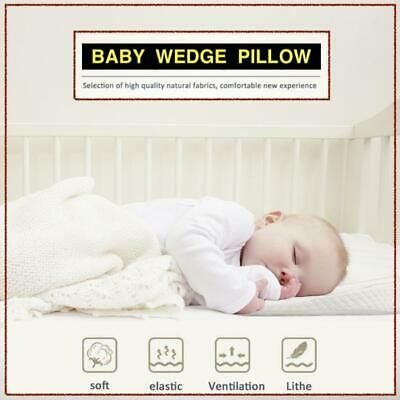 £9.99 • Buy Baby Wedge Pillow For Pram MEMORY FOAM Anti Allergy Washable Breathable Quilted