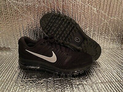 $169.99 • Buy New Nike Air Max 2017 Running Shoes Black Anthracite White 849559-001 Men