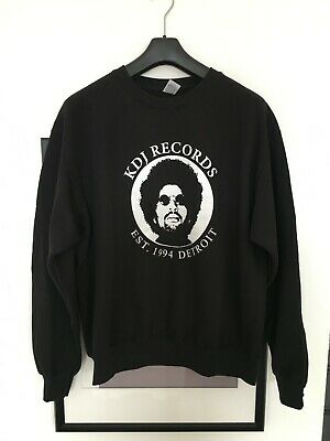Moodymann, KDJ Records Detroit Sweatshirt In Large. Black. • 35£