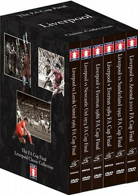 Liverpool FC DVD FA Cup Final Classic Collection 6 Disc Multiregion Box Set   • 39.99£