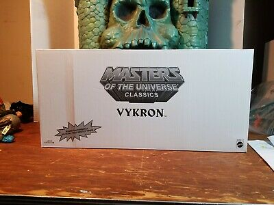 $65 • Buy Masters Of The Universe Classics 30th Anniversary: VYKRON (SDCC 2012 Exclusive)