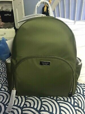 $ CDN127.87 • Buy NWT Kate Spade Dawn Large Backpack Nylon Sapling Green NEW WKRU5919
