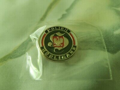 Polish Hooligans Pin Badge • 5£