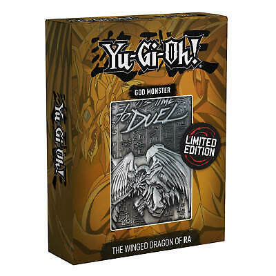 AU36.71 • Buy Yu-Gi-Oh! | Limited Edition Metal God Card Winged Dragon Of Ra Has Just Landed
