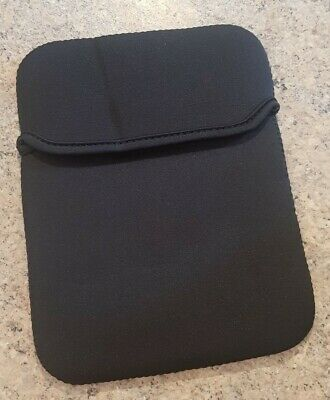 BLACK Ipad Tablet Neoprene Sleeve Pouch Cover Case For 7  Apple Android Kindle • 3.50£