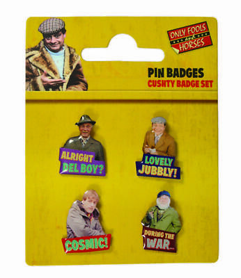 £7.99 • Buy Only Fools And Horses Official Enamal Badge Set
