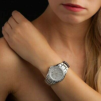 Yves Camani Galaure YC1071-A Watch With Glittering Zirconia Stones • 88.16£
