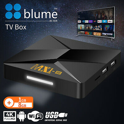 AU49.90 • Buy BLUME Android 9 Smart TV Box Media Player 4K Quad Core Wifi HDMI MINI PC 1+8G AU