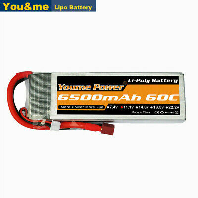 AU58.37 • Buy 11.1V 3S 6500mAh LiPo Battery 60C Deans For RC Car Helicopter Airplane Quad Boat