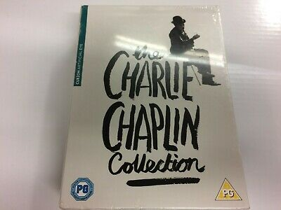 Dvd - The Charlie Chaplin Collection - New Sealed • 36.95£