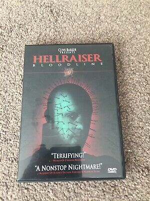 Hellraiser 4 Bloodline  Region 1 (USA)     (DVD) • 15£