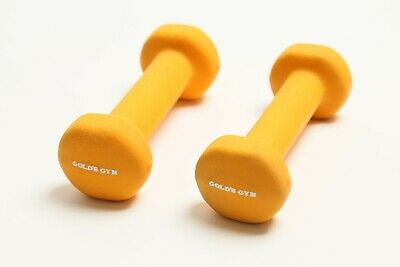 $ CDN32.94 • Buy Neoprene Gold's Gym 2 LB Dumbbell Hand Weights 4 LBS Total Weight FREE SHIP