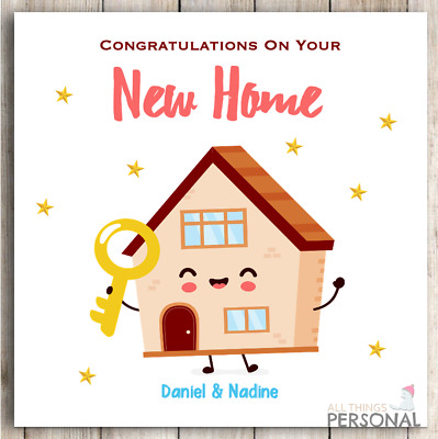 £2.99 • Buy New Home Card House Warming Moving Congratulation On Your First Home Card