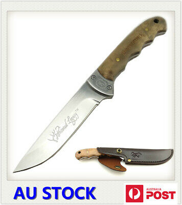 AU27.99 • Buy Browning Shadow Wood Fixed Blade Knife For Outdoor Camping Survival Hunting