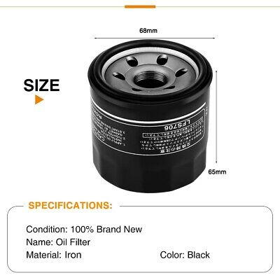 $12.97 • Buy Motorcycles Motor Oil Filter Black For Suzuki GSXR1000/GSX600/GSX1300R GSX-R750