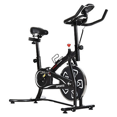 £109.99 • Buy HOMCOM Exercise Training Bike Indoor Cycling Bicycle Trainer LCD Monitor