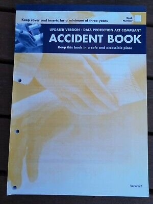 Accident Report Book Hse Approved ,school, Office, Factory, Garage, Etc • 3.99£