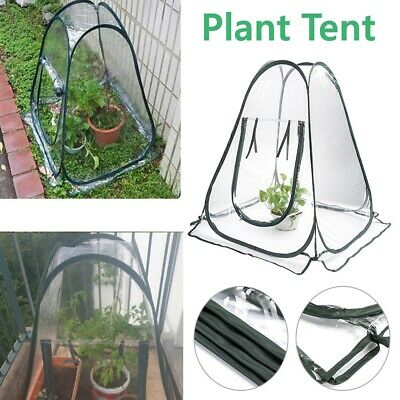 Mini Pop Up Garden Plants Flowers Cover Tent PVC Greenhouse Cloche Propagator • 19.56£