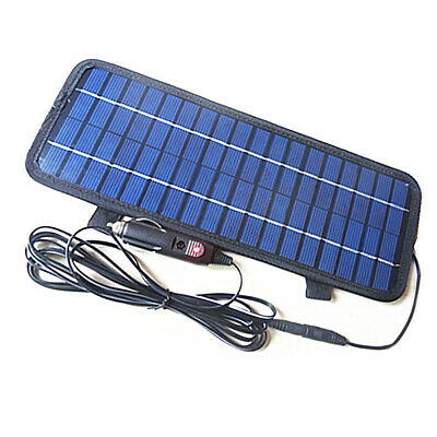 Smart Power Solar Panel Battery Charger 4.5W 12 Volt For Car Boat Motorcycle Kit • 20.08£