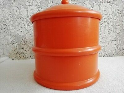 Cake Box, 2 Tier, With Lid, Orange, The Working Kitchen • 30£