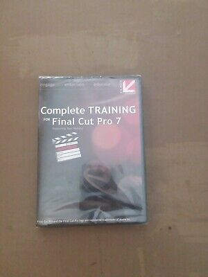 £56.44 • Buy Complete Training For Final Cut Pro 7 Dvd Brand New Sealed