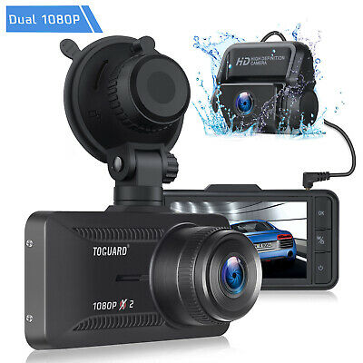 AU87.91 • Buy TOGUARD Both 1080P Dual Dash Cam Front+Rear Car Camera 3  IPS Screen Recorder AU