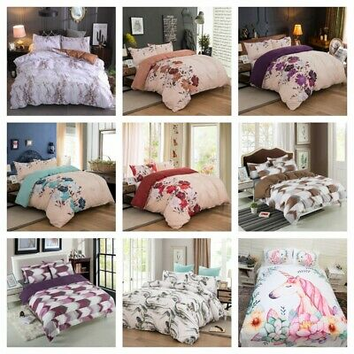 AU36 • Buy Clearance Duvet Quilt Covers Set All Size Bedding Set AU Doona Covers Pillowcase