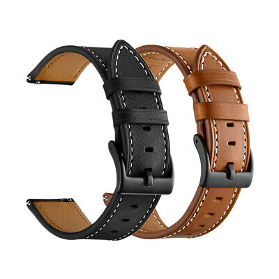$10.98 • Buy 18mm 20mm 22mm Classic Genuine Leather Watch Band Strap Quick Release Wristband
