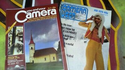 CAMERA USER Feb '76 YOU AND YOUR CAMERA MAY '79 ISSUE No.2 PHOTOGRAPHY MAGAZINES • 10£