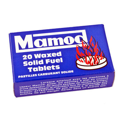 £9.48 • Buy Genuine Mamod Steam Engine Waxed Solid Fuel Tablets Box Of 20 - Brand New In Box