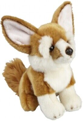 Ravensden Plush Fennec Fox Sitting 20cm - Frs009ff Soft Cuddly Toy Teddy Animal • 8.99£