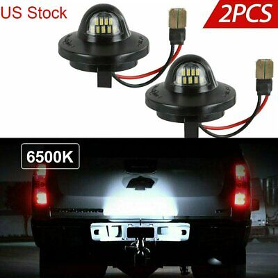 $9.96 • Buy 2x LED License Plate Light Lamp Assembly Replacement For Ford F150 F250 F350