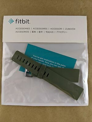 $ CDN19.59 • Buy Fitbit FB171ABOUL Versa Classic Band Flexible Olive Size Large