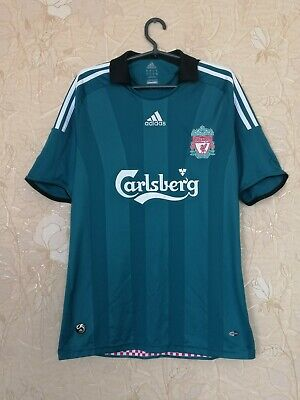 Liverpool 2008 - 2009 Third Football Soccer Shirt Jersey Adidas Size M • 42.56£