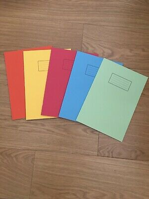 A4 EXERCISE BOOK SCHOOL NOTEBOOK 80 PAGES FOR CLASS CHILDREN HOMEWORK Pack 1/2/4 • 3.45£