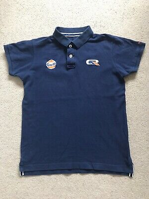 Gulf Racing Team Wear Polo Size M • 18£
