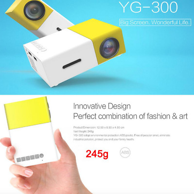 AU56 • Buy Salange YG300 Mini Projector LED Projector Lcd Projetor Audio HDMI USB Mini YG-3