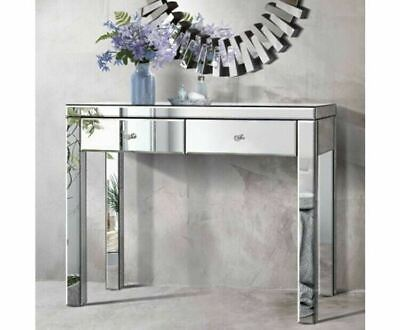 AU279.56 • Buy Artiss Mirrored Furniture Dressing Console Hallway Table Sidebaord Drawers AU