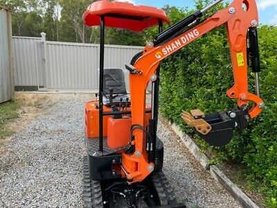 AU14990 • Buy 2021 SD12DS Diesel Excavator With SWING BOOM AND 9 Heavy Duty Attachments