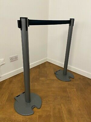 Tensabarrier Crowd Control Barriers X 15 - Extends Up To 3.65m - Crowd Control • 800£