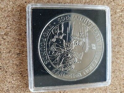 1995 Guernsey  50th Anniversary Of Liberation  Two Pound Coin • 8£
