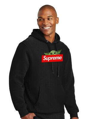 $ CDN86.87 • Buy Hoodie Hooded Sweatshirt Gucci Supreme Adult Star Wars Baby Yoda Mandalorian